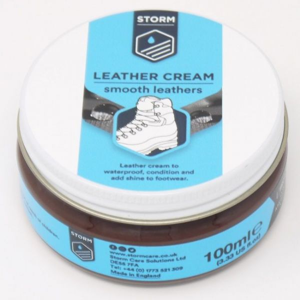 Storm Brown Leather Cream